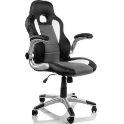 Cadeira Gaming Fantech Easy Preta/Cinza