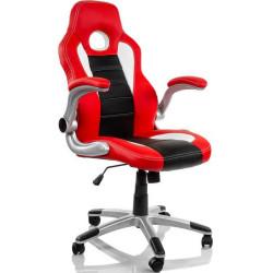 Cadeira Gaming Fantech Easy Preta/Vermelha