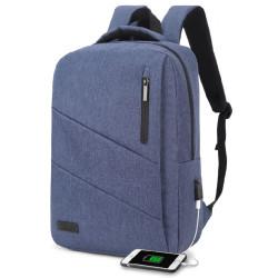 "Mochila para Portátil 15.6"" Subblim City Backpack Azul"