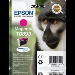 Tinteiro Epson T0893 Magenta Original Série Macaco (C13T08934011)