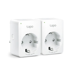 Tomada Inteligente TP-Link Tapo P100 Wifi Pack 2 unidades