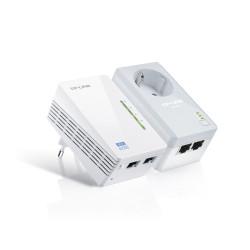 Powerline TP-Link 300Mbps AV500 WiFi Extender Starter Kit TL-WPA4226KIT
