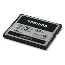 Toshiba Exceria Compact Flash 64GB - 1000x - 150mb/s  CF064GTGI(8 - ONBIT