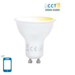 Lâmpada Smart LED WiFi CW GU10 7W Aigostar