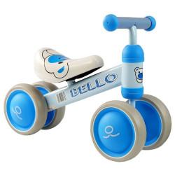 Bicicleta Equilíbrio Bello Azul Rodas Duplas