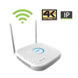 Gravador de Vídeo de Rede Amiko 4+4 Canais Wi-Fi NVR9804PGW
