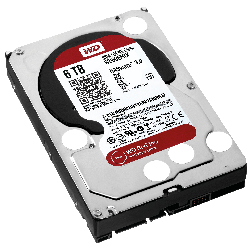 Disco Rígido Western Digital RED 6TB 3.5´ 64MB NASware (WD60EFAX)