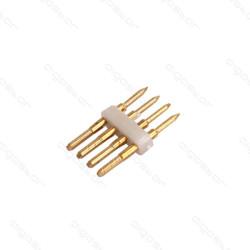 Conector para Fita LED RGB 4 Pinos - Pack 10 unidades