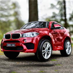 Carro Elétrico BMW X6M Sport XXL 12V/120W Bateria c/ Comando Vermelho