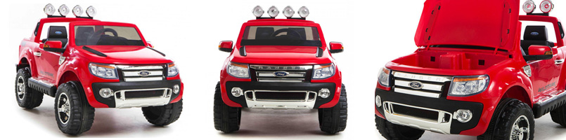 Ford ranger red